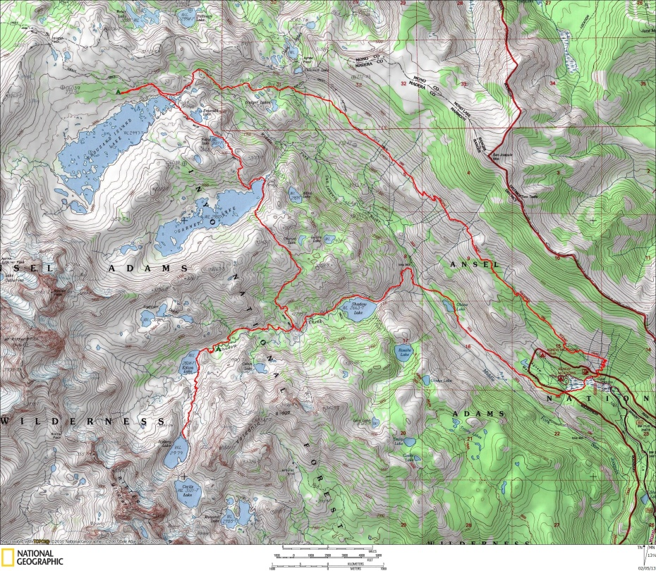 Ediza / 1000 Island Map